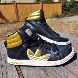 Adidas Buty Campus Gold Trefoil Basketball Shoes